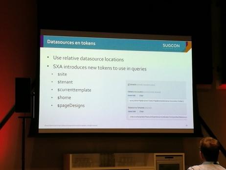 Sitecore SXA datasource tokens